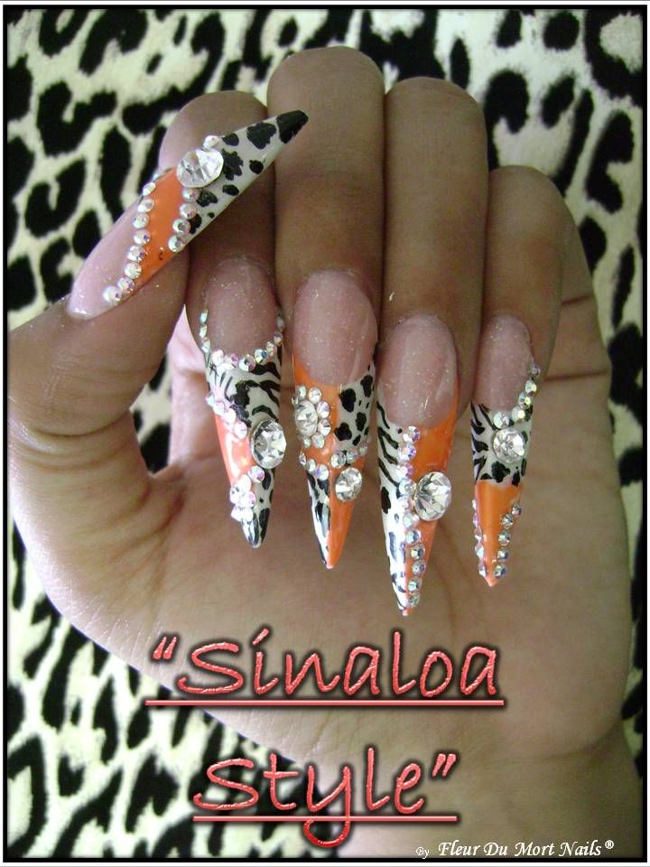 Disenos Para Unas Estilo Sinaloa Image Search Results | Nails ...