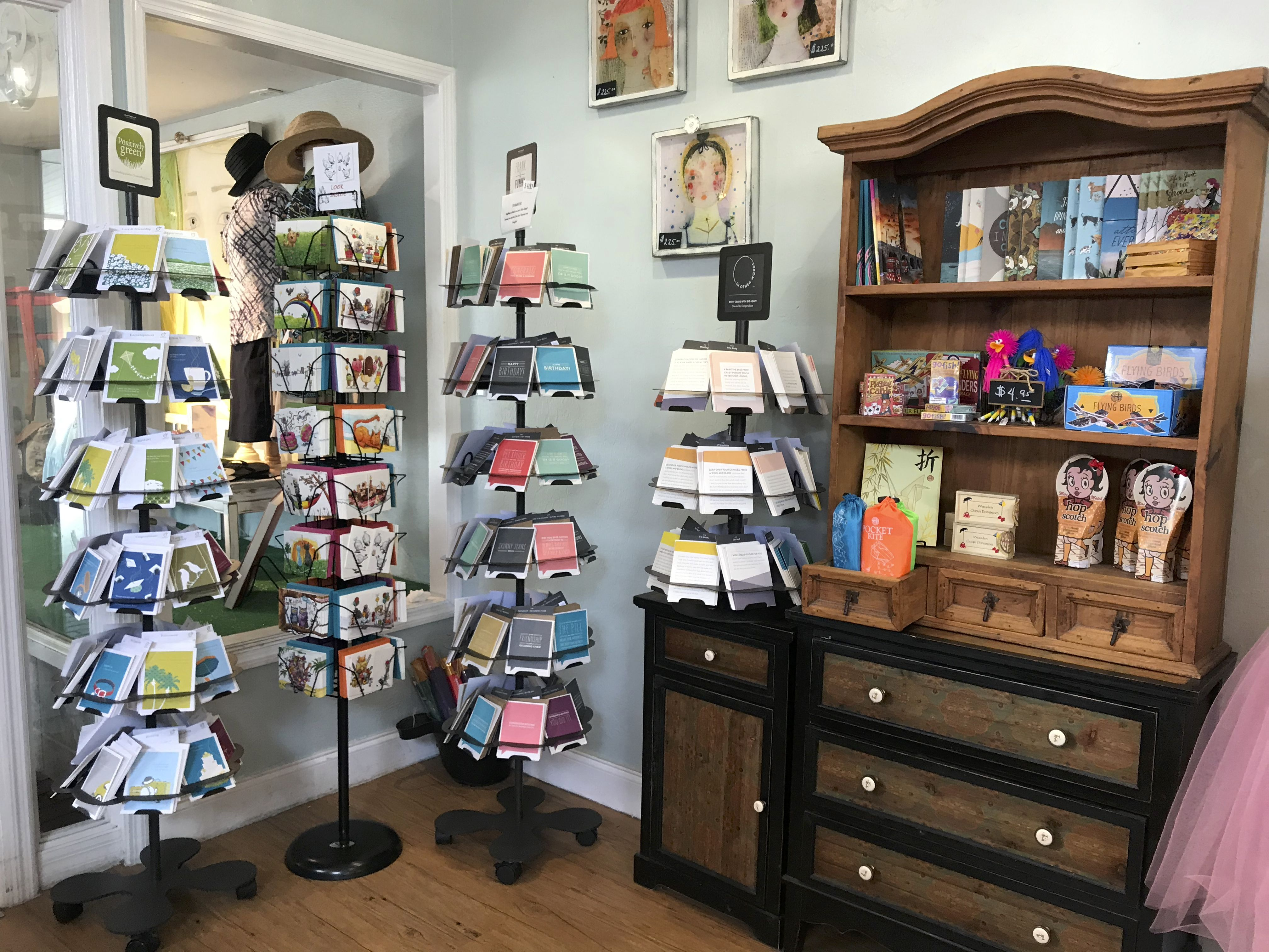 Cards and stationery gifts for an artist fair trade