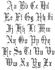 lettering styles   ... from Old English Lettering Tattoos to ...