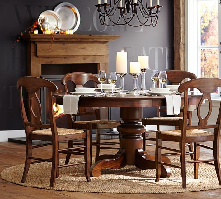 Tivoli Extending Pedestal Table & Napoleon Chair 5Piece Dining Brilliant Dining Room 5 Piece Sets Design Inspiration