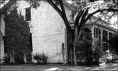 GAC & Libby's house at Fort Riley, Kansas, 1866