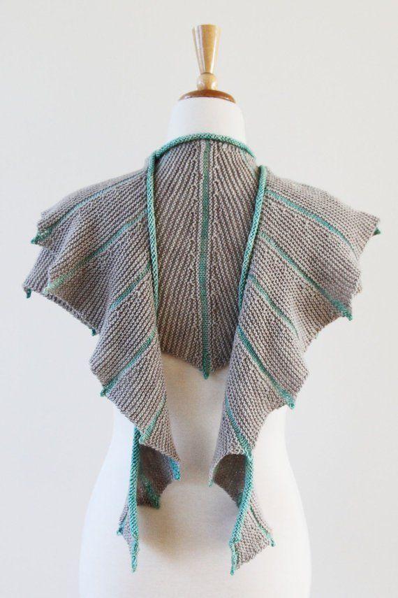 Sea Dragon Shawl Knitting pattern by ambah | Knitting Patterns | LoveKnitting