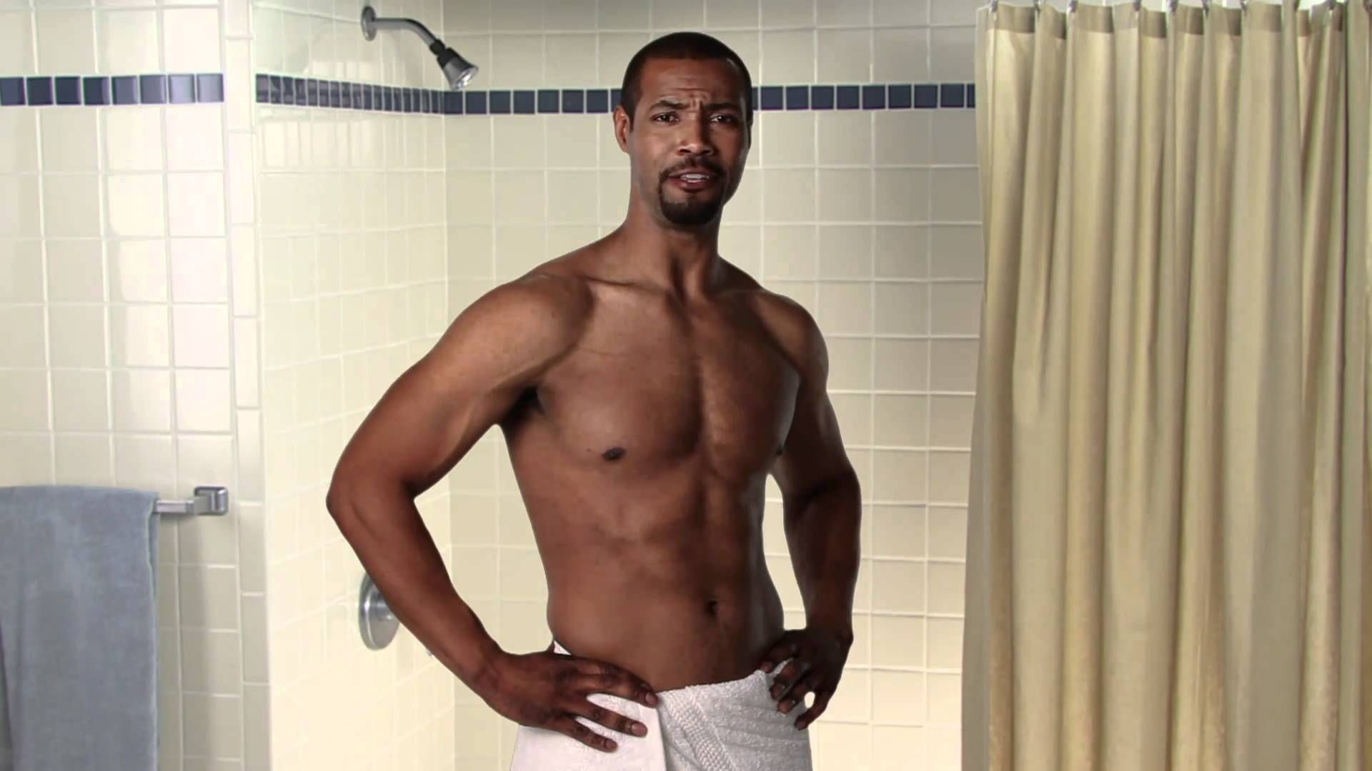 Image result for black man old spice commercial