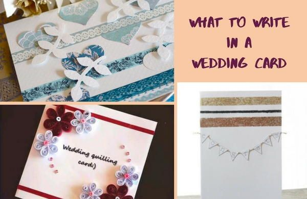 what to write in a wedding card words to say pinterest wedding