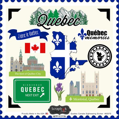 Customs - Canadian Provinces Sightseeing Collection - 12 x