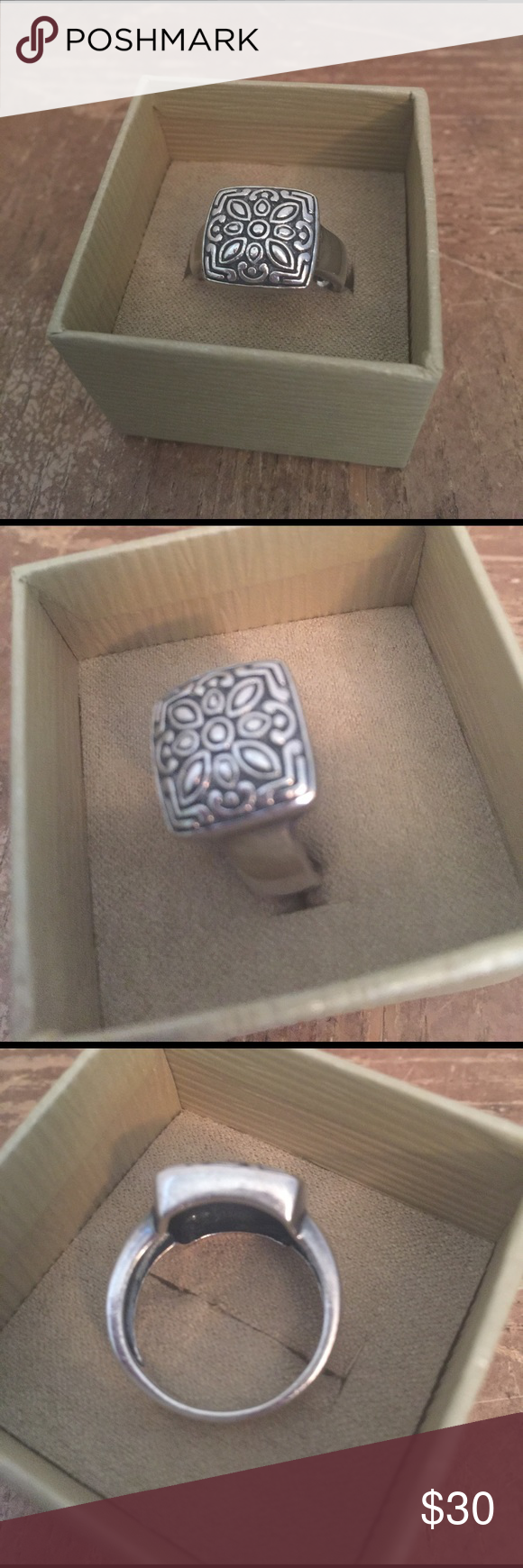 🌸Ring Sterling silver size 9 Vintage 925🌸 🌸Ring Sterling silver solid Vintage size 9🌸 Jewelry Rings