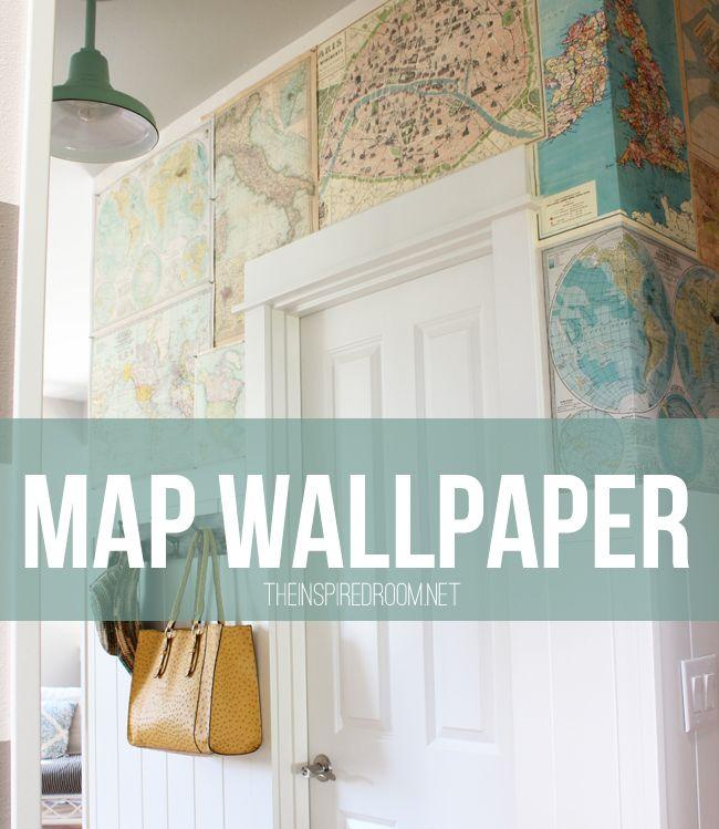 http://theinspiredroom.net/2013/05/07/map-wallpaper-for-walls/