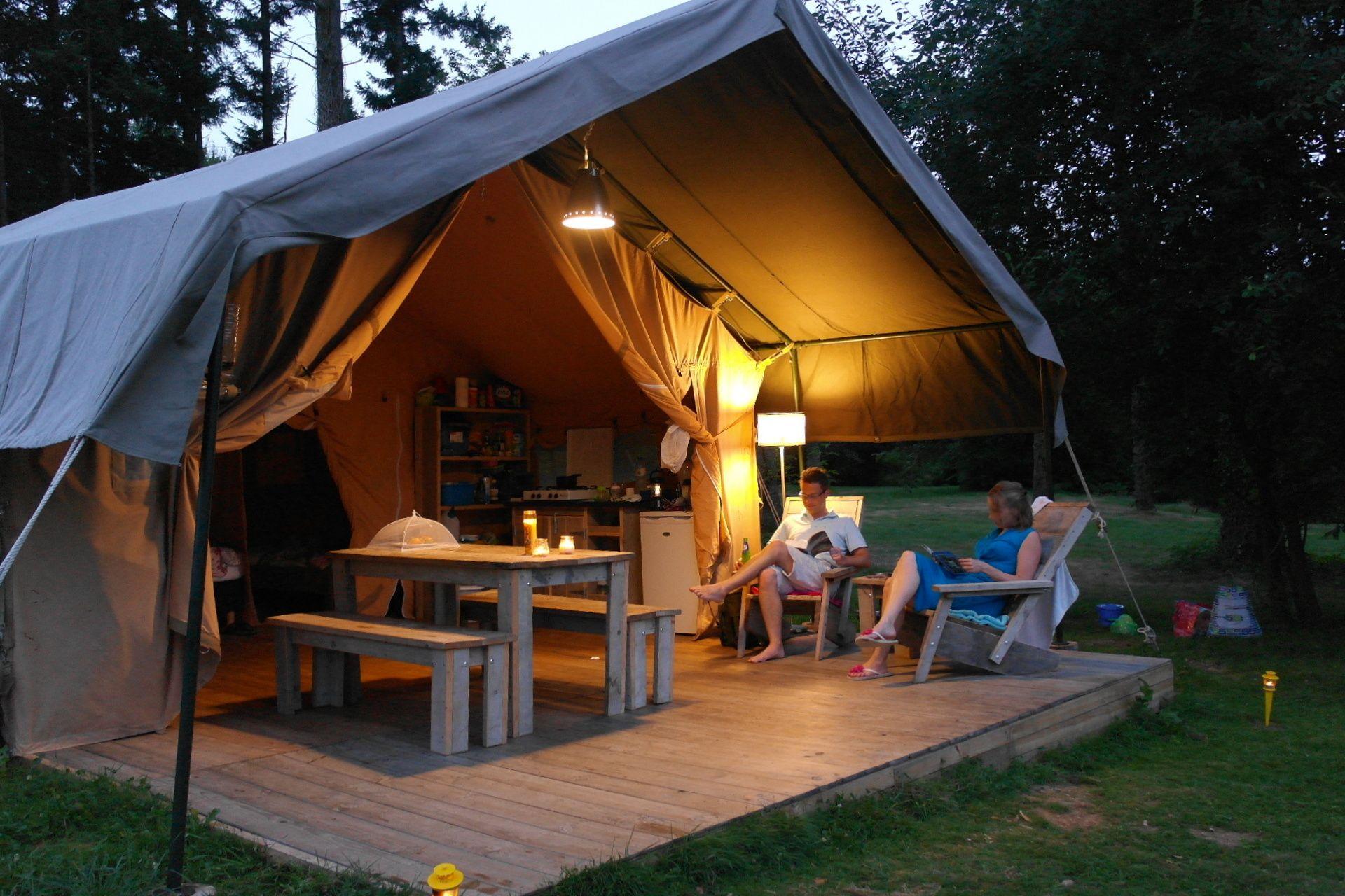 huur een safaritent op een kleine camping greencamp verhuurt op zo