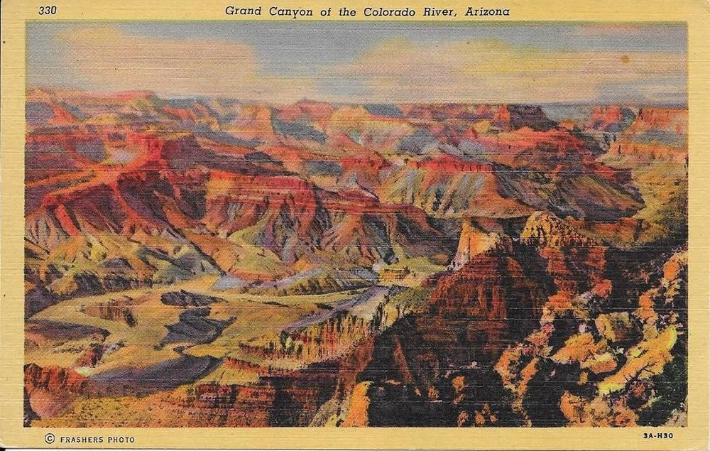 Grand Canyon Pa Directions%0A Sunset Camelback Mountain   I love that place    Pinterest   Sunset   Vintage travel and Vintage travel postcards