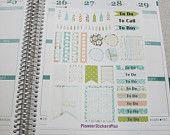 Owl Weekly Sticker Kit, Monthly Sticker Kit, Planner Stickers, Erin Condren Planner Stickers, Happy Planner Stickers, Agenda Stickers, Plum