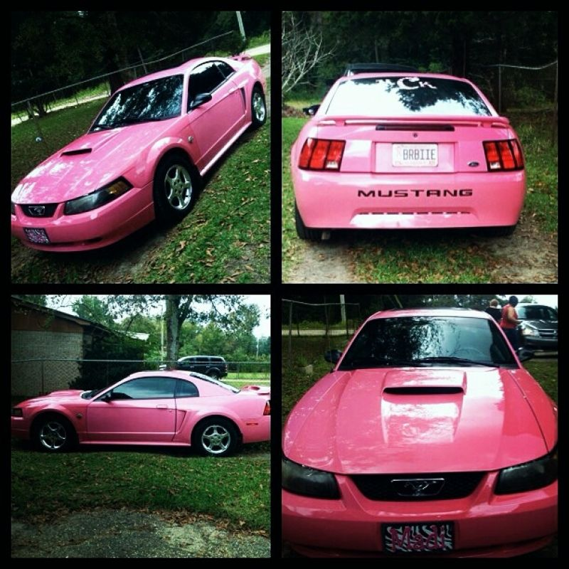 Used 2004 Ford Mustang Pink Must