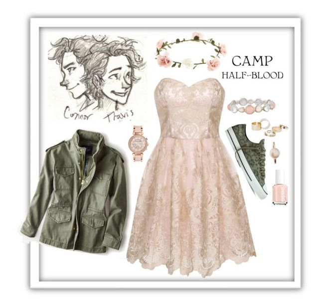 """Dance at Camp Half-Blood! Going with Travis Stoll!"" by autumnhorse2 ❤ liked on Polyvore"