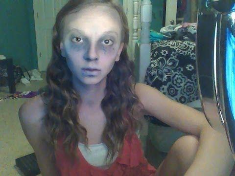 Super Creepy Ghost Makeup Tutorial!