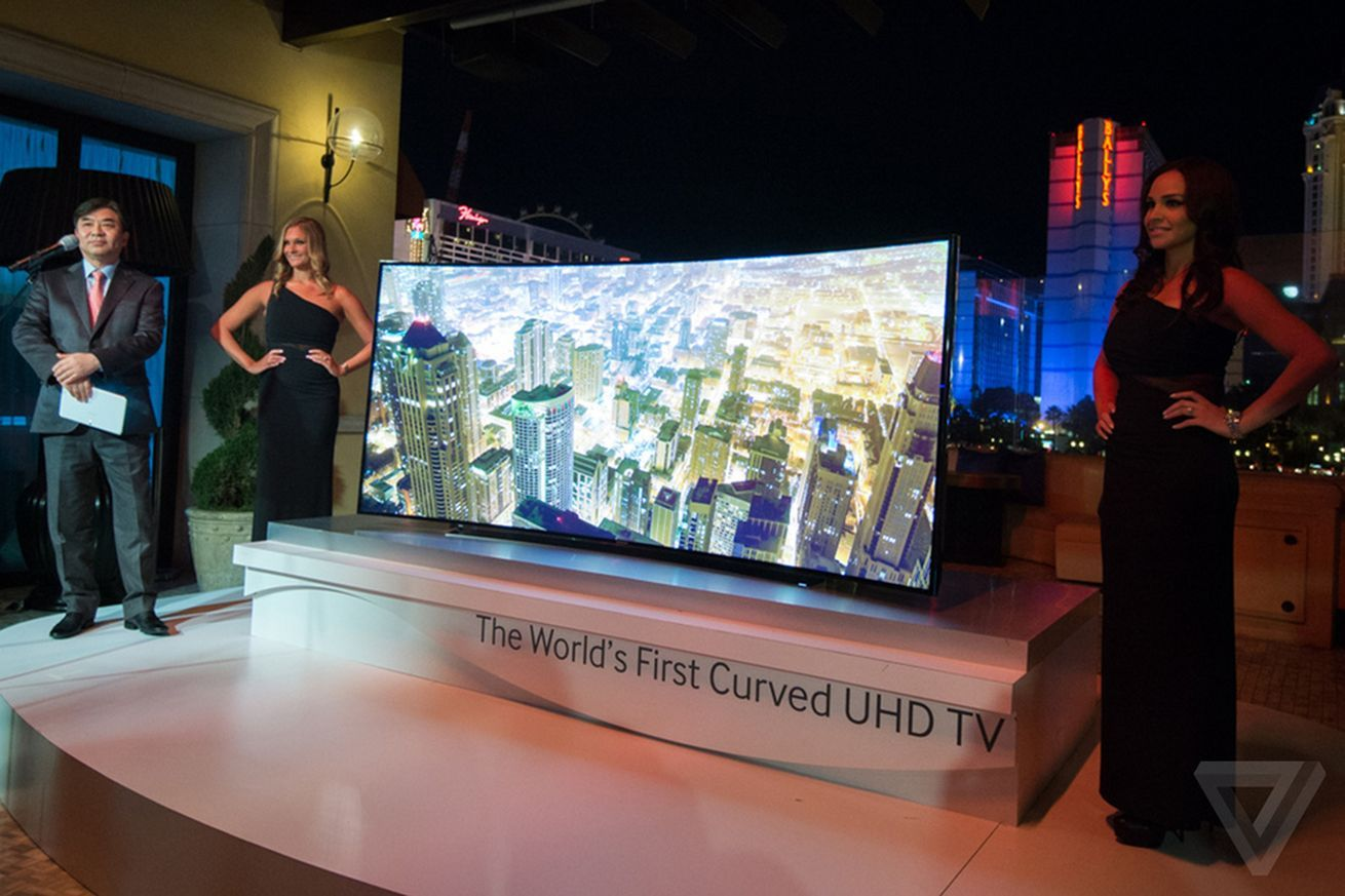 tv 72 inch. samsung reveals a wild bendable tv prototype and its curved, 105-inch ultra hd tv 72 inch t