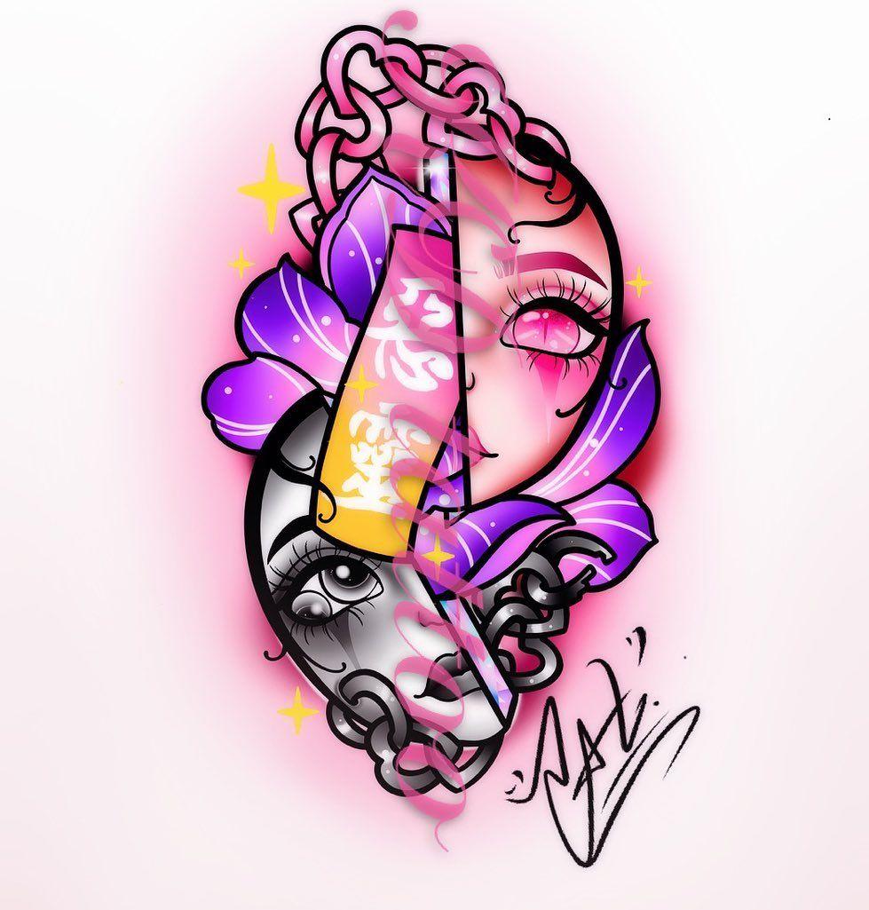 sorry😑😑😑#masktattoo #maskcarabeauty #neotraditionaltattoo #neotraditional #neotrad #neotradeu #neotradicionaltattoo #neotradicional #neotraditionaltattoos #neotraditionaltattooers #polandtattoos #polandtattoo #flashtattoo #flashtattoos #tattooflash #tattooflashart #tattoodesigns #tattoodesign #tattoodrawings #tattoodelicada #tattoodrawing #sailormooncrystal #kawaiitattoo #kawaiiart #kawaiigirl #inkedtattoo #inktattoo #inked #inkedgirls #tattooideas