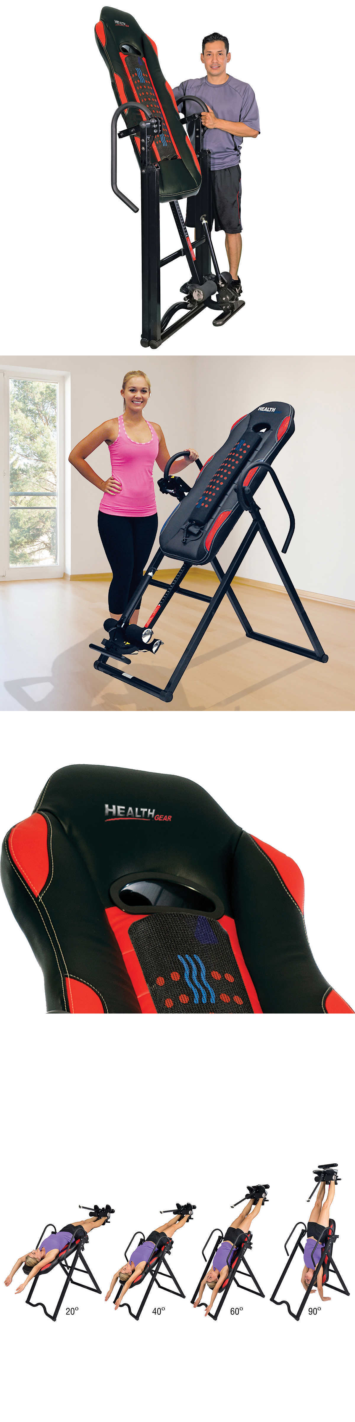 Inversion Tables Health Gear Itm 6000 Full Body Heat And