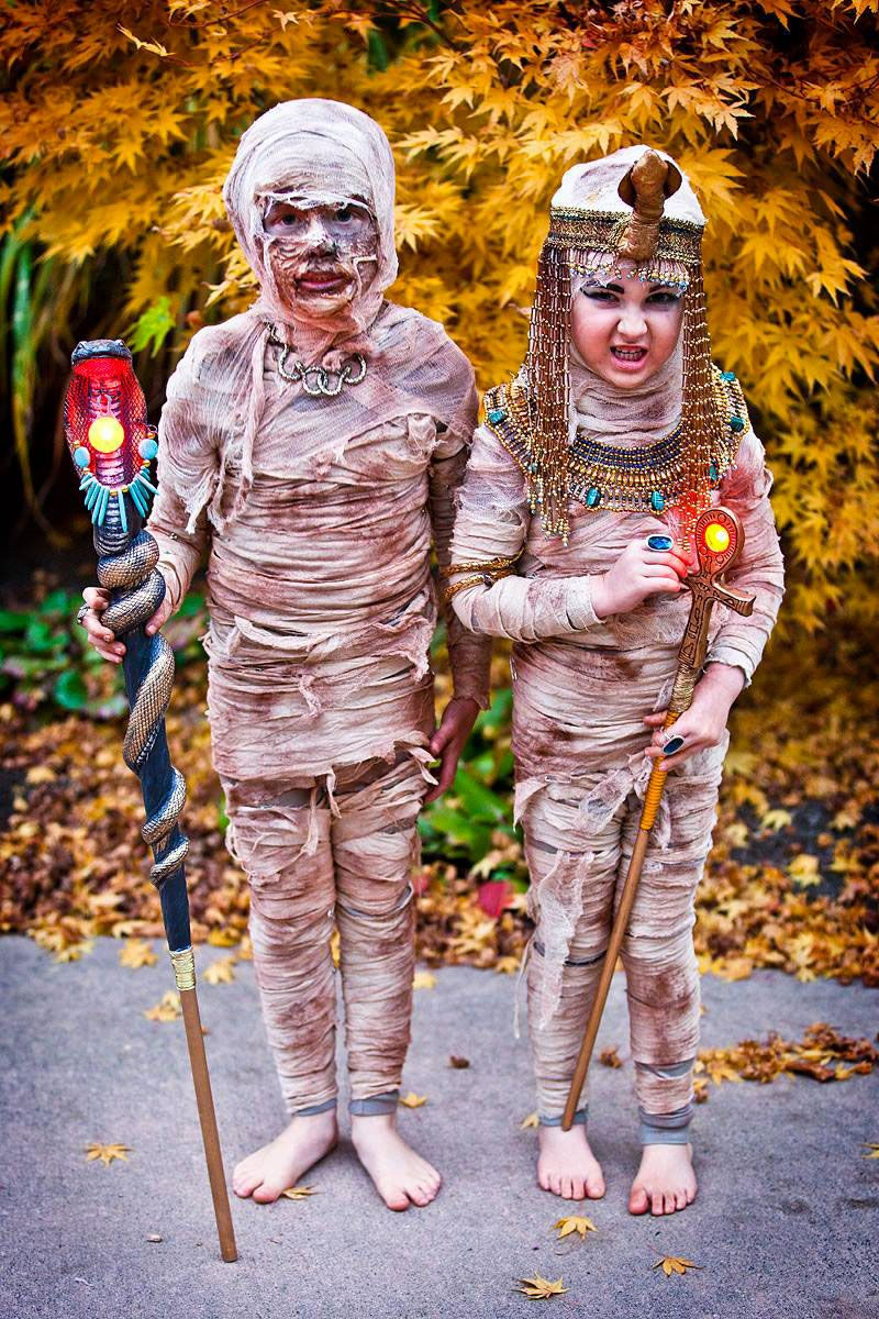 36 costumes super originaux qui vont épater tout le monde à Halloween !  sc 1 st  Pinterest : egyptian costume ideas homemade  - Germanpascual.Com