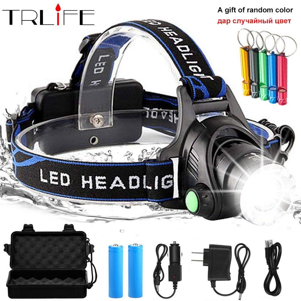 Led Headlight Zoom Torch Flashlight Head Lamp Gadgetpiper Com Headlamp Led Headlamp Led Headlights