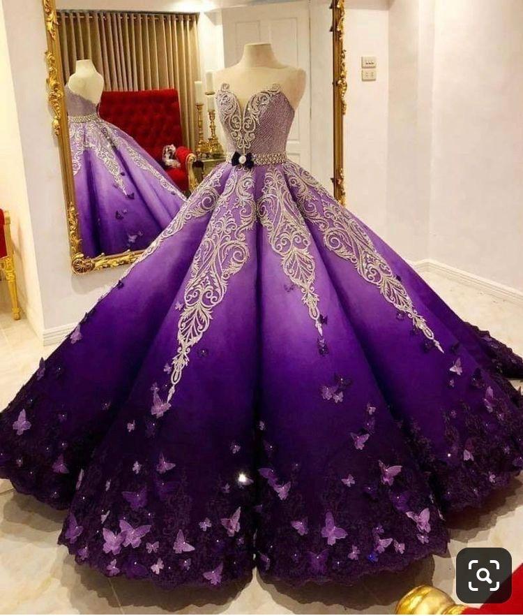 Superb Glamorous Gorgeous Pretty Violet White Design