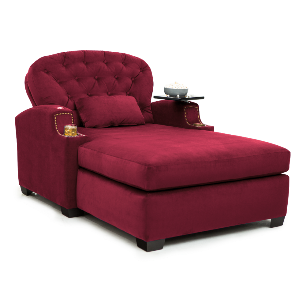 Chateau Chaise By Cavallo In 2020 Chaise Lounger Chaise Home Theater Seating