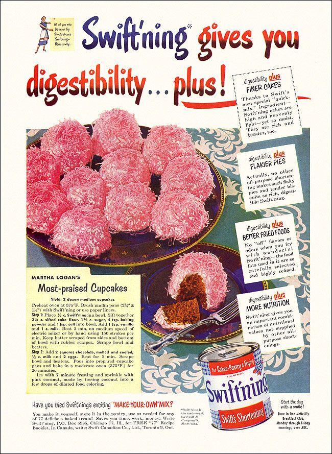 Hostess Cupcakes Nutrition : hostess, cupcakes, nutrition, Birthday, Party, Perfect, 1950s, Coconut, Snowball, Cupcakes, Vintage, Recipes,, Retro, Baking