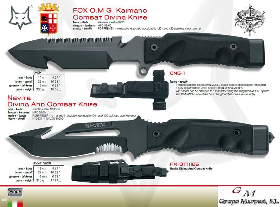 Cuchillos Tacticos Y Caza Militares Omg Kaimano Navita Cuchillos Combate Fox Military Cuchilleria Albacete Cuchillos Tacticos Cuchillos Cuchillos De Combate