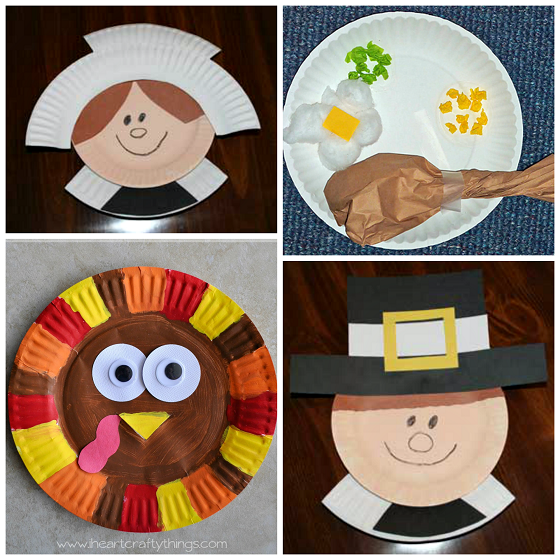 Thanksgiving Craft Part - 18: Here Are Fun Thanksgiving Paper Plate Crafts For Kids To Make! Find  Turkeys, Pumpkin