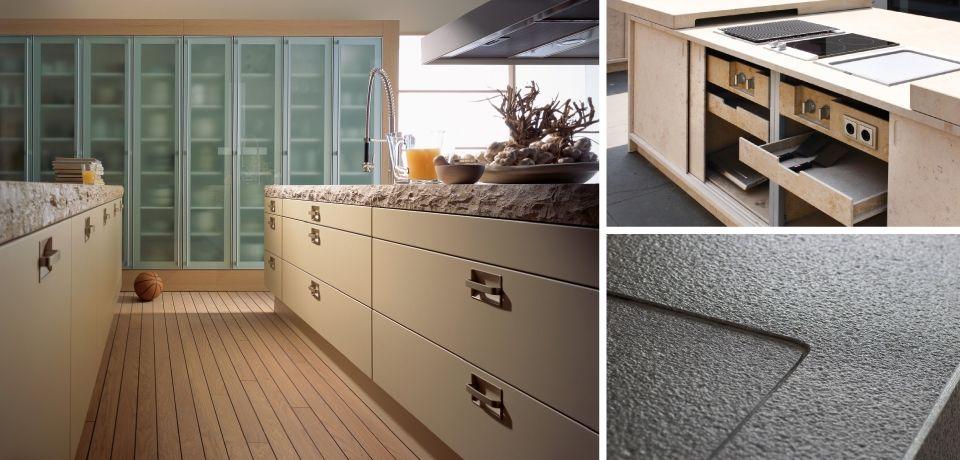 Naturstein Arbeitsplatten verbinden höchste Funktionalität mit - arbeitsplatte küche verbinden