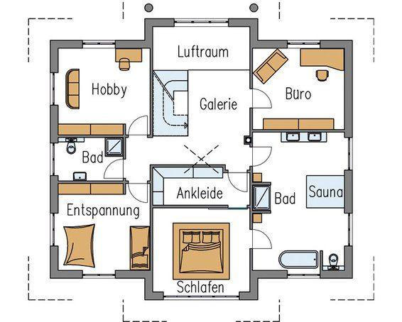 gute idee schlafzimmer mit ankleide im vorderen zimmerteil hausbau pinterest stadtvilla. Black Bedroom Furniture Sets. Home Design Ideas