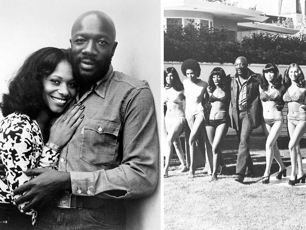 Isaac Hayes Movies And Tv Shows Ideal issac hayes in head to toe levis. from the movie truck turner