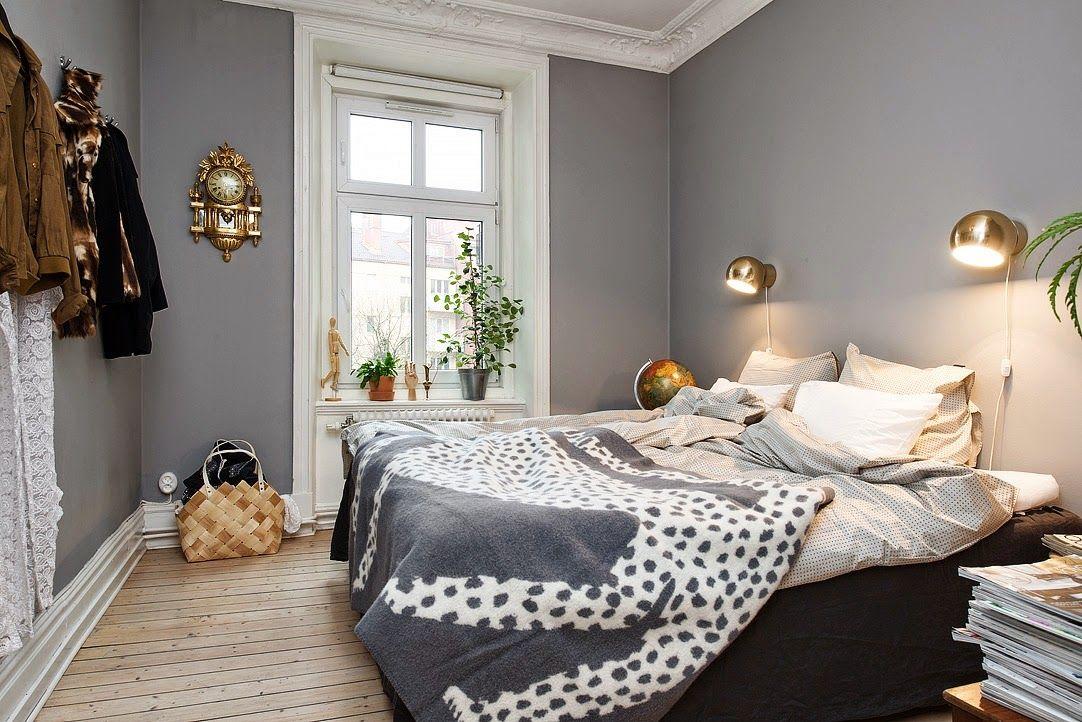 Victorian terrace small bedroom