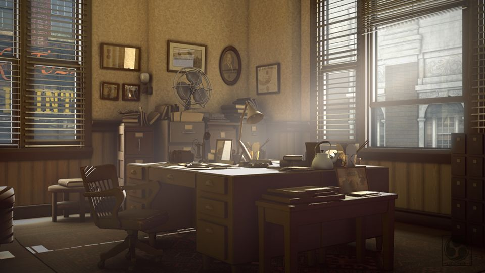 Benchmark detective office 2012 by fudoshinart detective