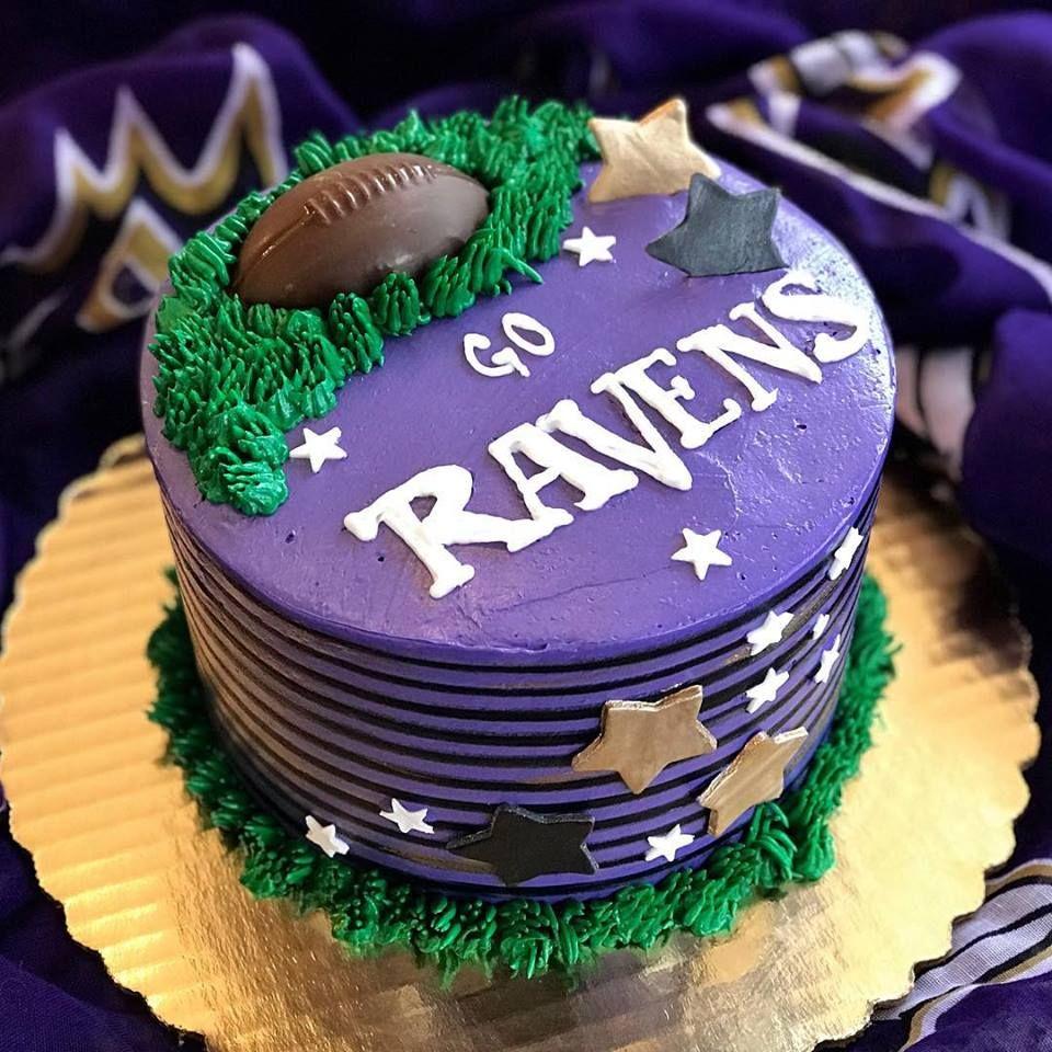 Baltimore Ravens Cake With Images Superbowl Cake Baltimore