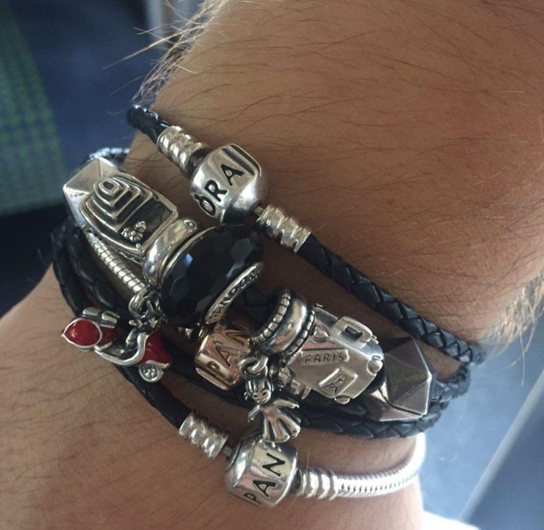 Pandora | Mens pandora bracelet, Pandora for men, Pandora bracelet ...
