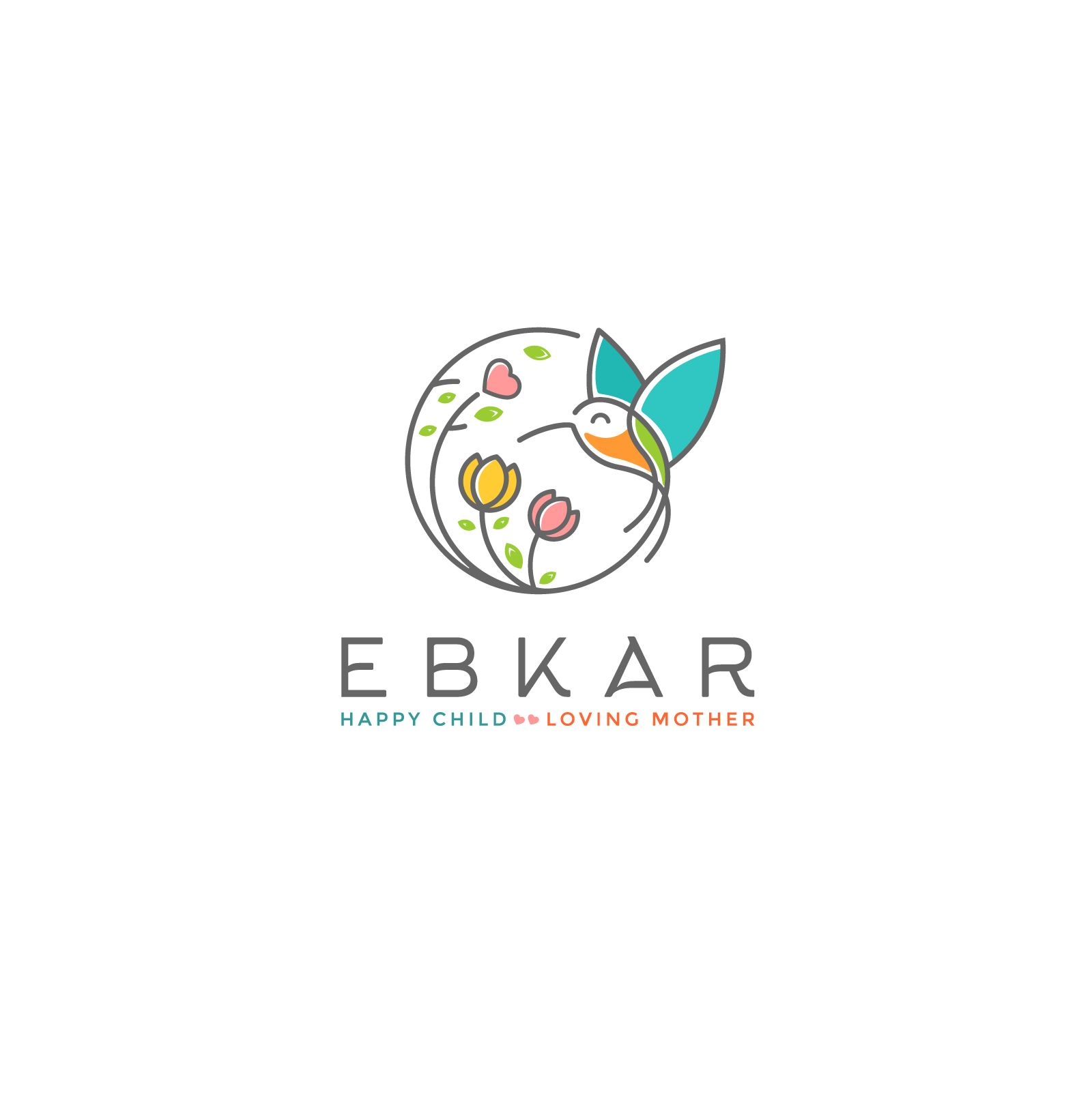 Designs | EBKAR Childcare center needs Creative and Modern logo ...