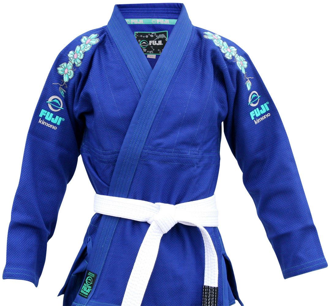 Women's Blue Blossom BJJ Gi by Fuji | I need this | Jiu