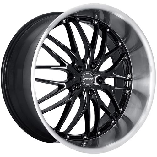Wheel Offset 2006 Chrysler 300 Tucked Dropped 3 Custom Rims: Black Wheels, Wheel