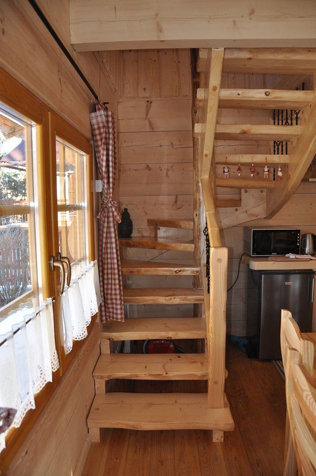 The Perfect Log Cabin Log Homes Little Log Cabin Tiny House Design