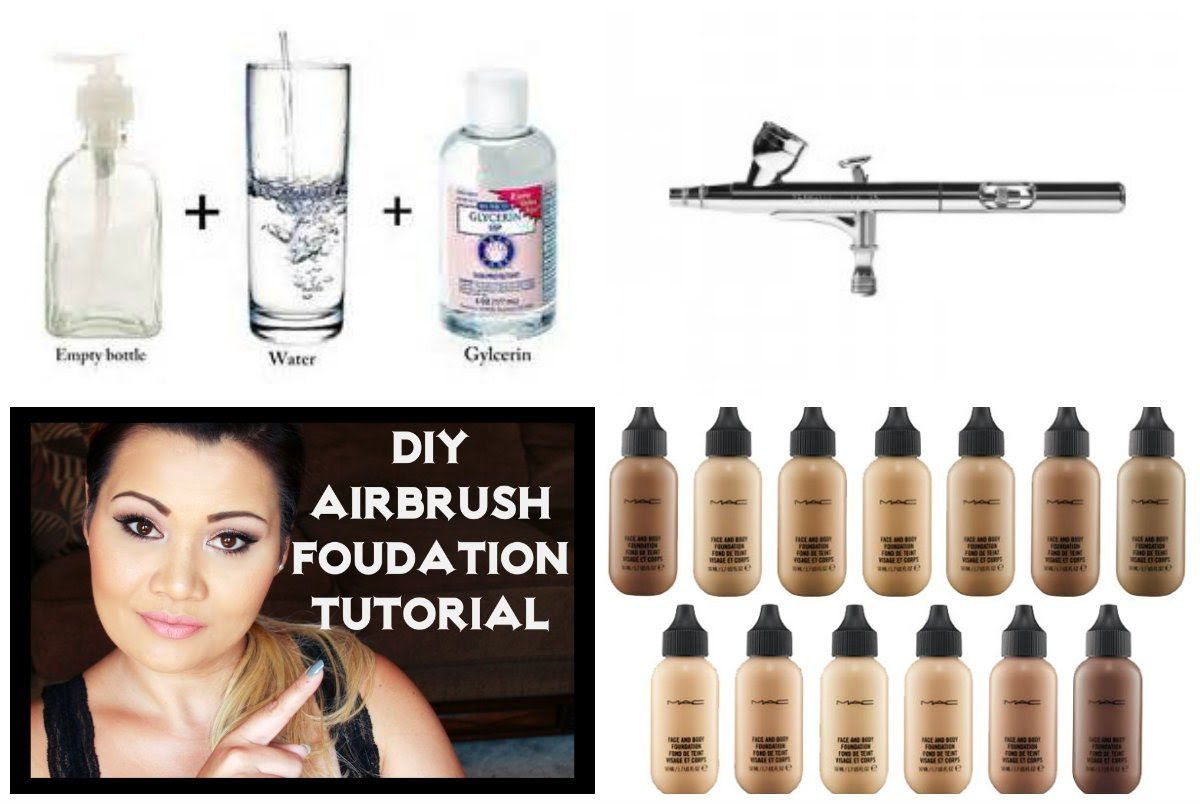 DIY Airbrush Foundation Made easy and inexpensive Tutorial