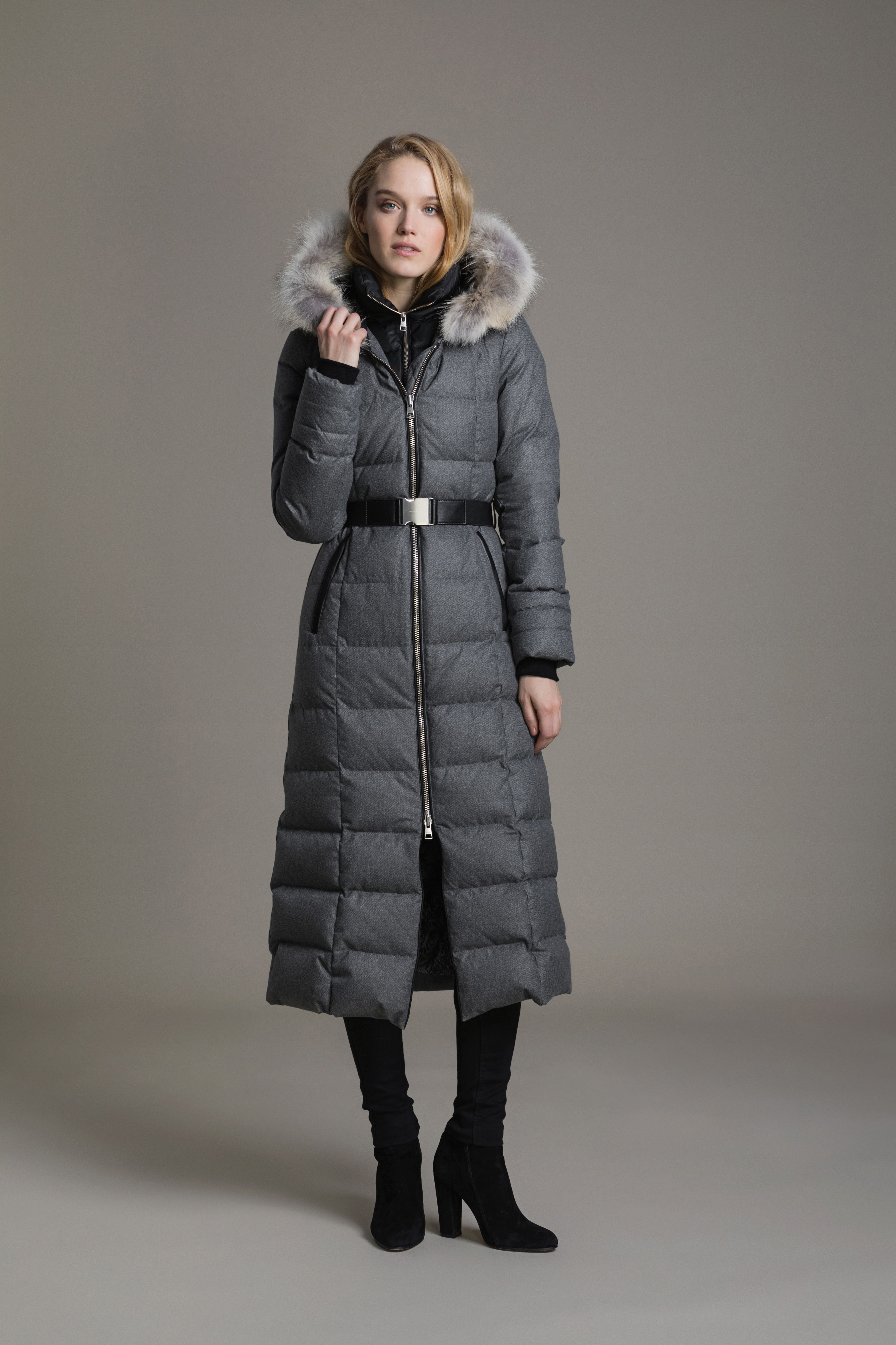 1bf077dc2 MARIANA-C by SOIA & KYO is a slim-fit, maxi-length down coat ...