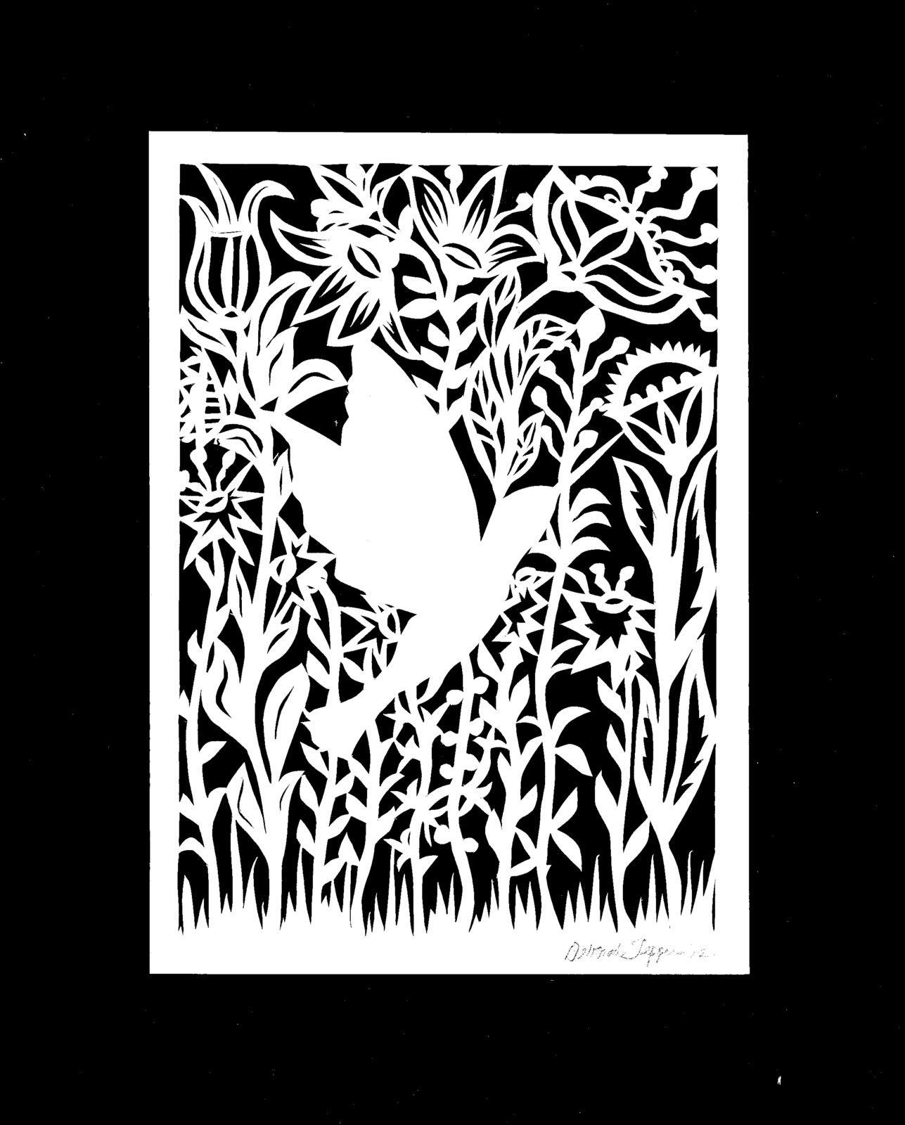 hummingbird0001.tif 1 287 × 1 600 pixels | Kirigami | Pinterest