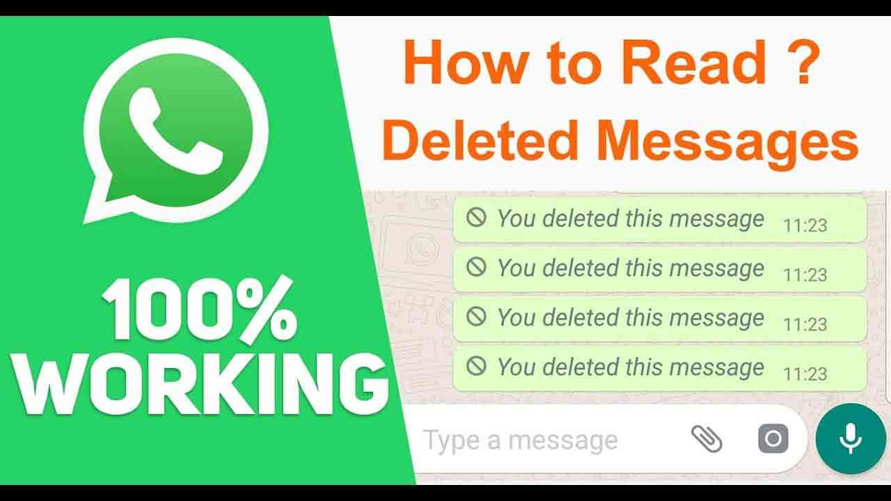 Image result for How to read whatsapp delete message