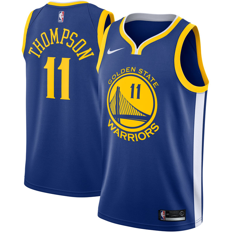 Klay Thompson Golden State Warriors Nike Swingman Jersey Blue - Icon Edition 03ae4f699