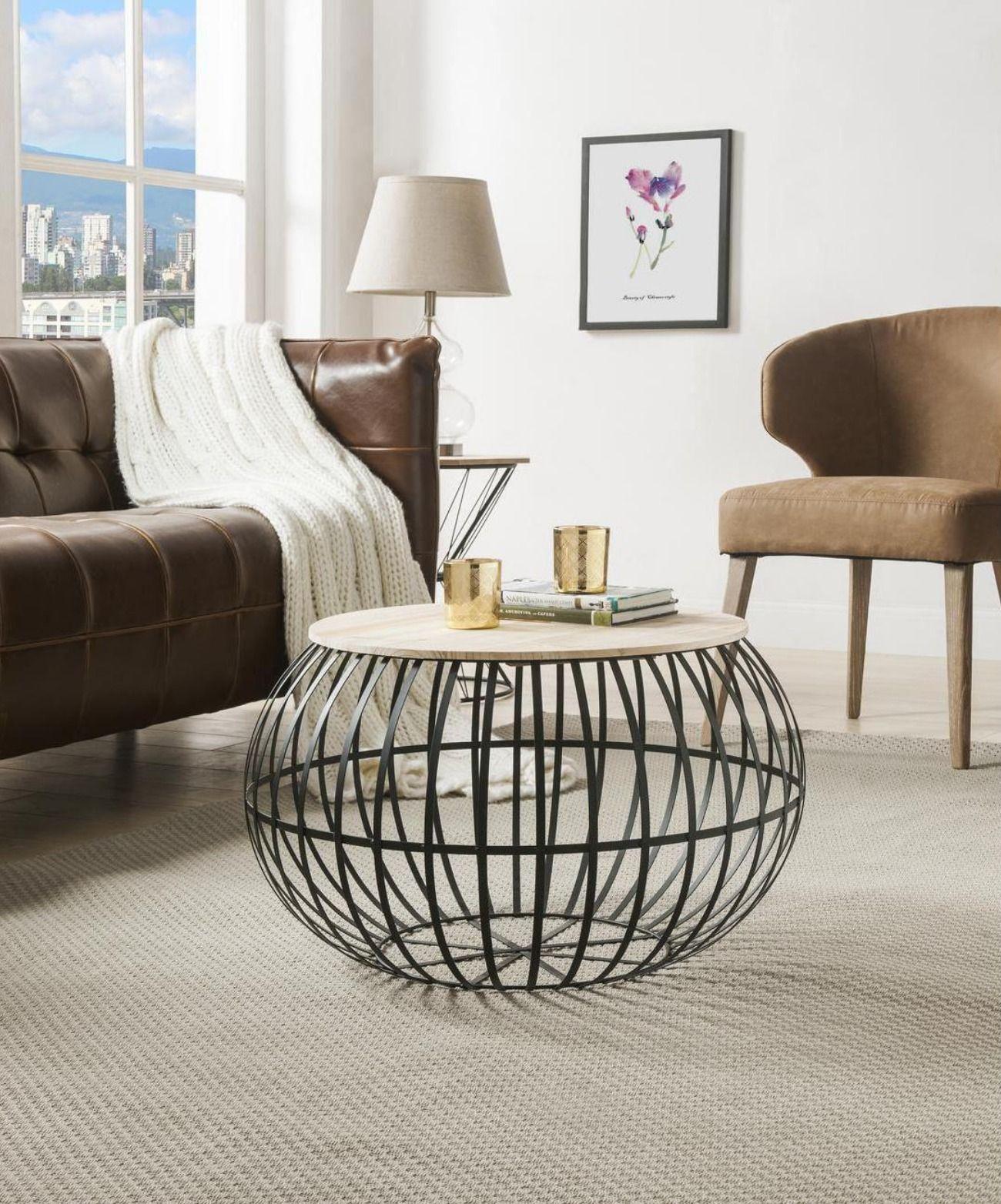 La Table Basse Ralph By Bobochic Propose Un Style De Type Industriel Table Basse Decoration Maison Mobilier De Salon