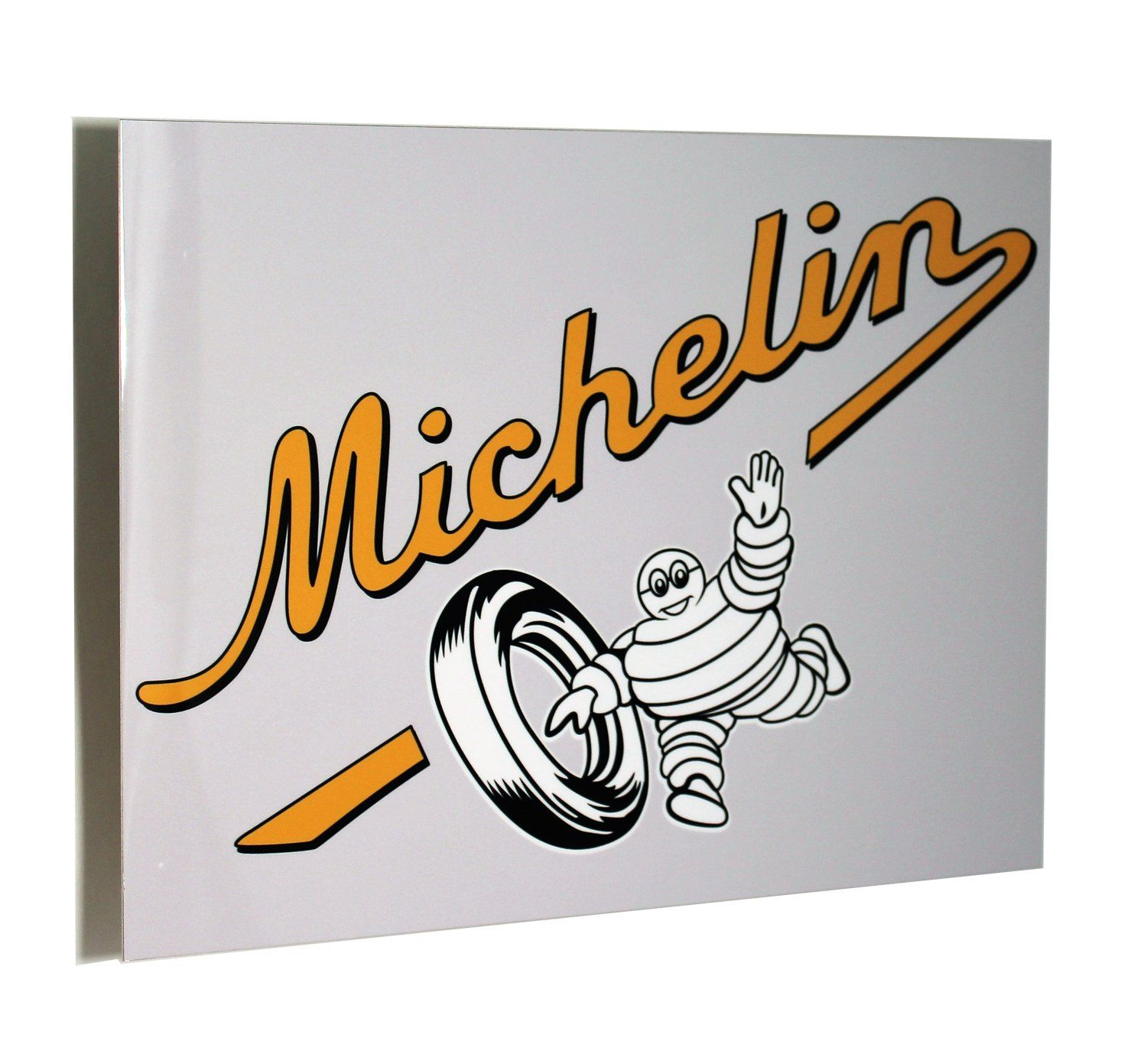 Michelin Vintage Tire Cart Metal Sign Metal signs