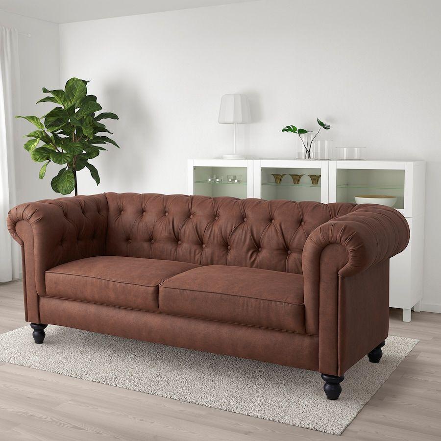 Gillinge Canape 2 Places Jarstad Effet Ancien Ikea Suisse In 2020 2er Sofa Sofa Sofa Chester