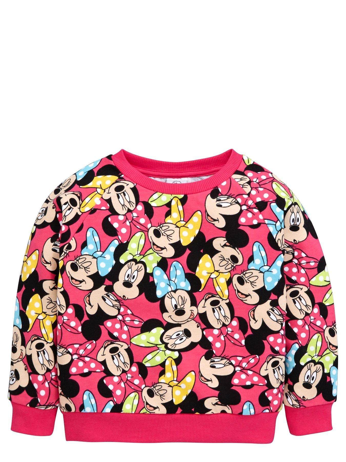 Minnie Mouse MINNIE MOUSE SWEAT TOP | very.co.uk