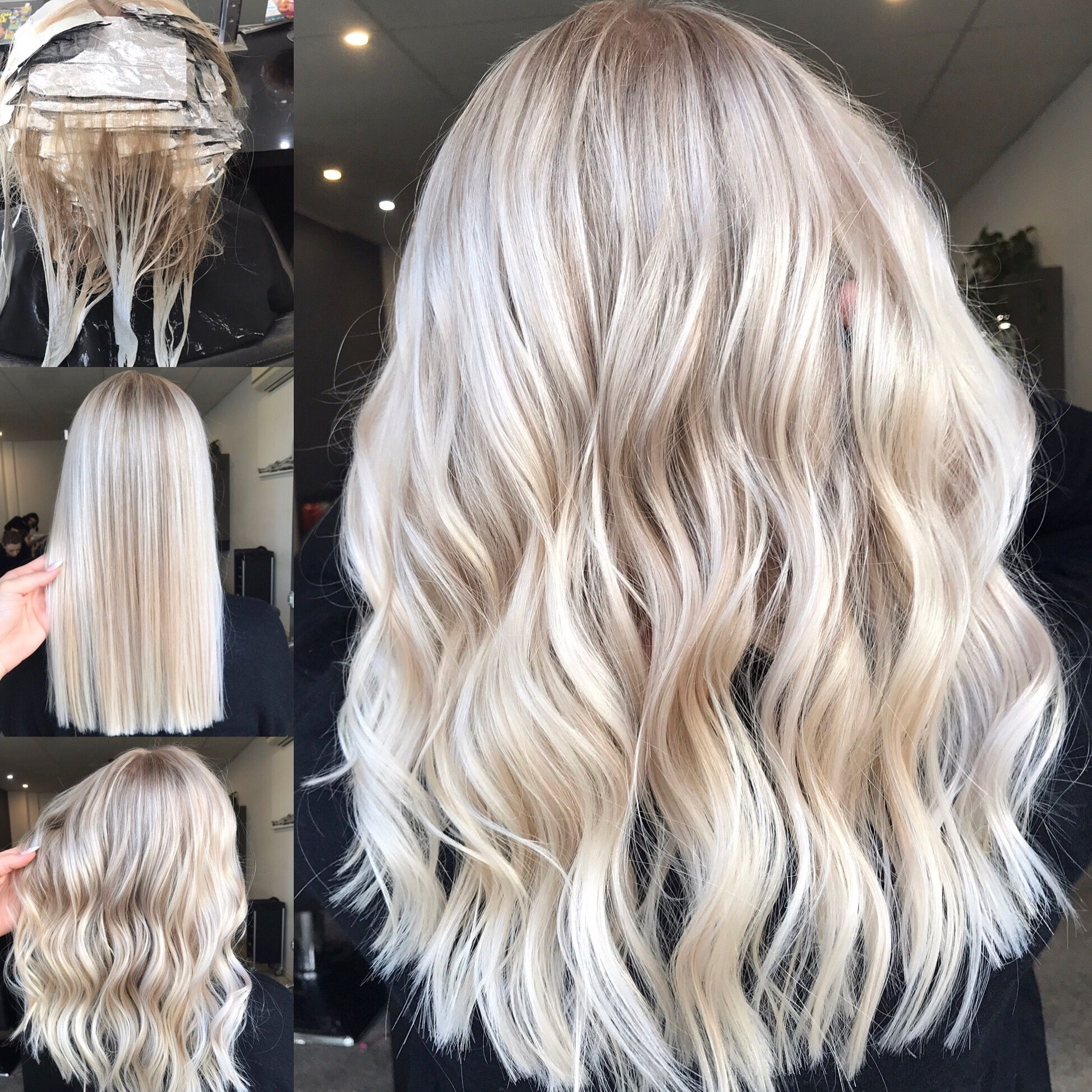 Blonde Balayage Long Hair Cool Girl Hair Lived In Hair Colour