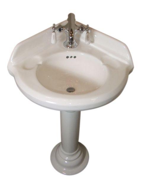 650 Corner Pedestal Sink Omega Lighting Design Corner Pedestal Sink Pedestal Sink Corner Sink
