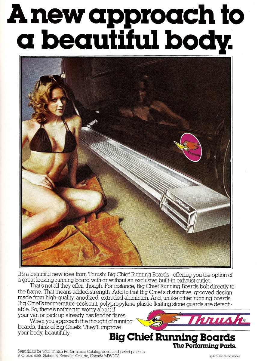 Just a car guy : Thrush pipes and mufflers advertising of ...